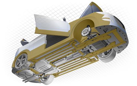 Dinitrol ML Rostskyddsbehandling skyddar de mest utsatta delarna på bilen