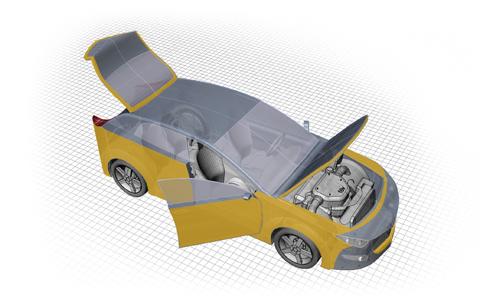 Dinitrol TKD Tuff Kote Dinol Rostskyddsbehandling Steg 3: Bagagelucka, bagageutrymme och reservhjulsbalja behandlas med en tunn hålrumsprodukt.